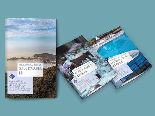 Des guides touristiques aux couleurs de Saint-Jean-Cap-Ferrat